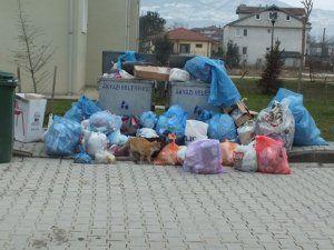 Toki Evlerinde Çöp İsyanı