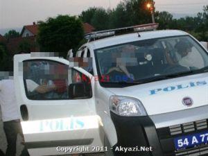 Uygulama yapan Polisi görünce kaçan şüpheli gecenin sonunda Cezaevine gitti...