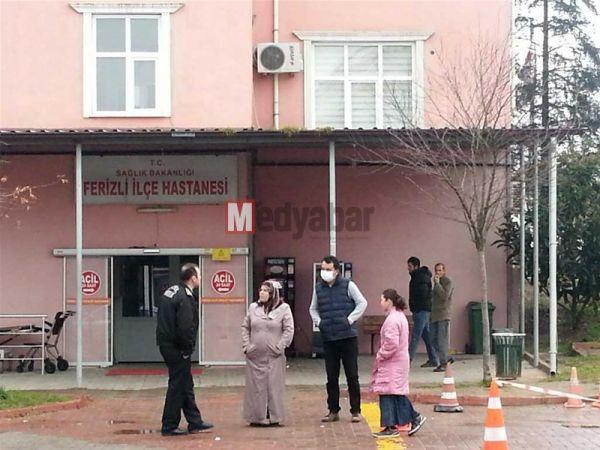 Ferizli Devlet Hastanesi acil servisi karantiya alındı