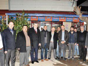 MHP'den Başkan Durmuş'a taziye ziyareti