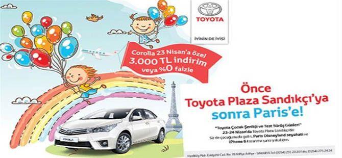 Toyota 23 Nisan Çocuk Şenliği