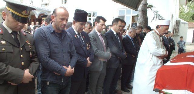 Kıbrıs Gazisine son görev...
