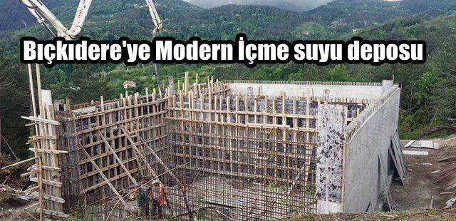 Bıçkıdere'ye Modern İçmesuyu Deposu geliyor