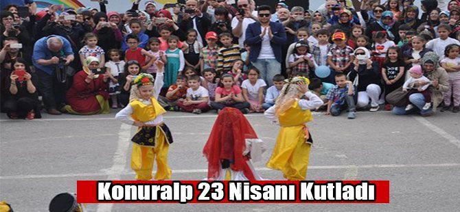 Konuralp İlkokulu 23 Nisanı Kutladı