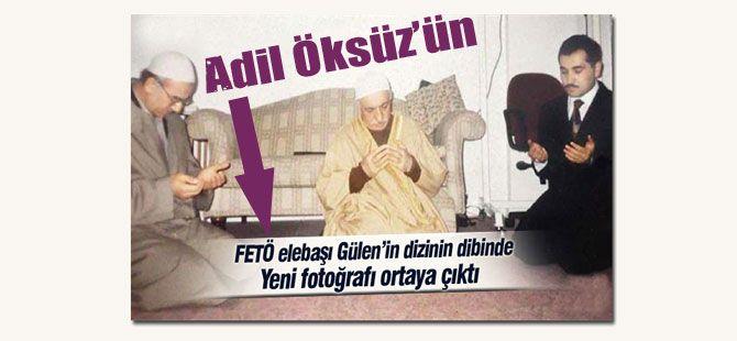 Adil Öksüz ile Gülen'in 90'lardan bir fotoğrafı...