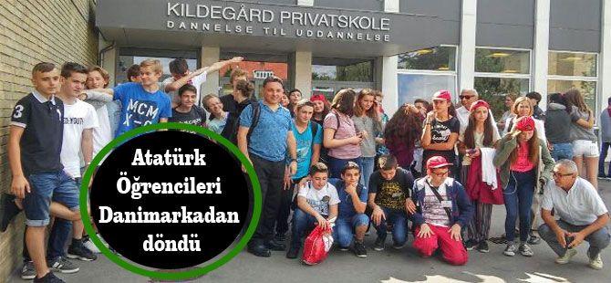 Atatürk Öğrencileri Danimarkadan döndü