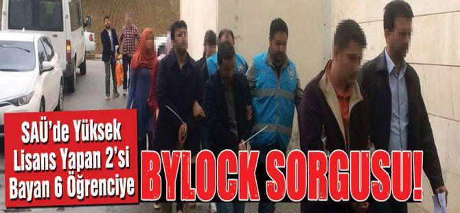 Yüksek lisans öğrencileri 'Bylock'tan adliyede!..
