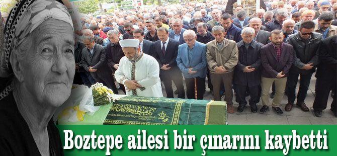 Boztepe ailesi bir çınarını kaybetti