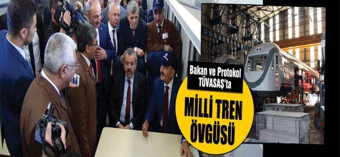 Bakan Müezzinoğlu'ndan Milli Tren övgüsü
