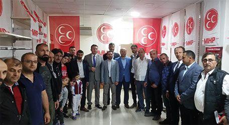 MHP Karasu'ya çıkarma yaptı