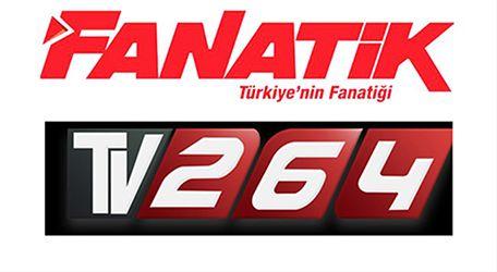 Fanatik Gazetesi'nden TV264'e teşekkür