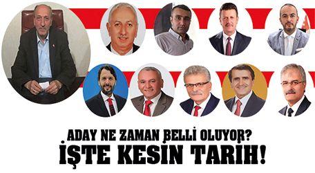 Ak parti Akyazı belediye başkan adayı açıklanma tarihi belli oldu..