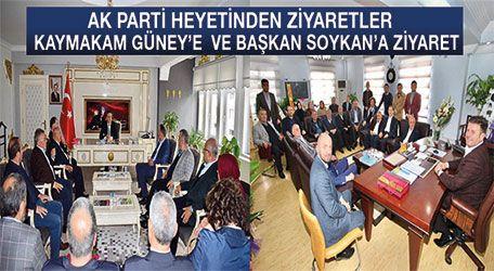 AK partiden başkan Bilal Soykana hayırlı olsun ziyareti