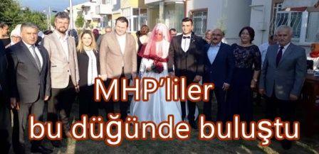 MHP'liler bu düğünde buluştu