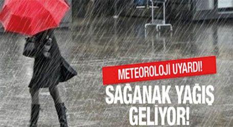Meteoroji uyardı! Balkanlar üzerinden şiddetli geliyor!