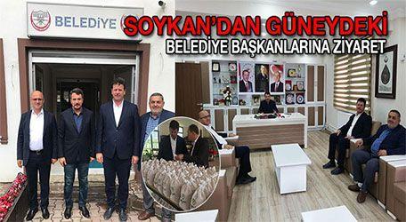 Soykan'dan Güneydeki Belediye başkanlarına ziyaret