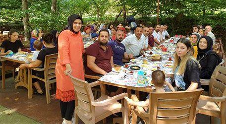 Mustafa Birincioğlu kahvaltıda Akrabalarıyla buluştu