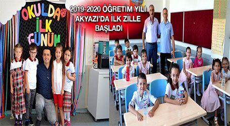2019-2020 Öğretim yılı Akyazı'da ilk zille başladı