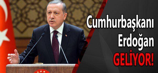Cumhurbaşkanı Erdoğan Sakarya'ya gelecek