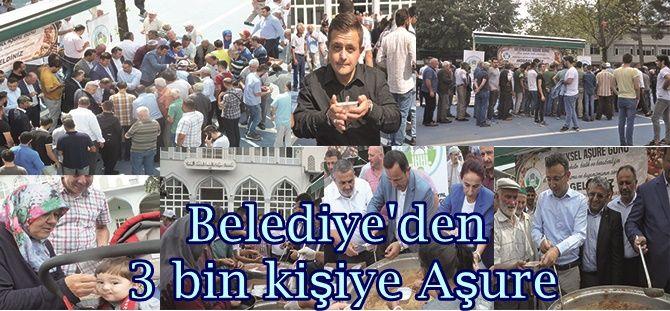 Akyazı Belediyesinden 3 bin kişiye Aşure