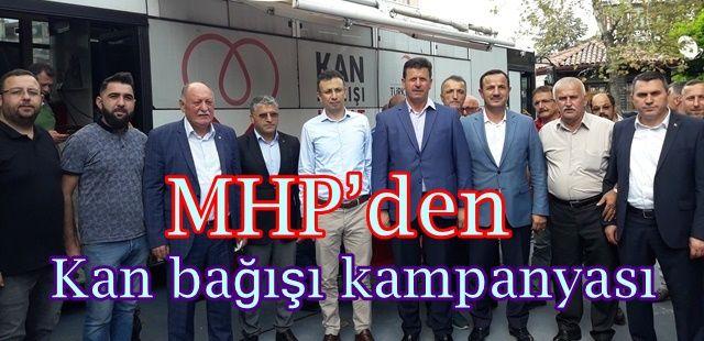MHP'den  Kan bağışı kampanyası