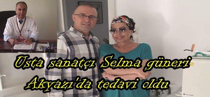 Usta sanatçı Akyazı'da tedavi oldu