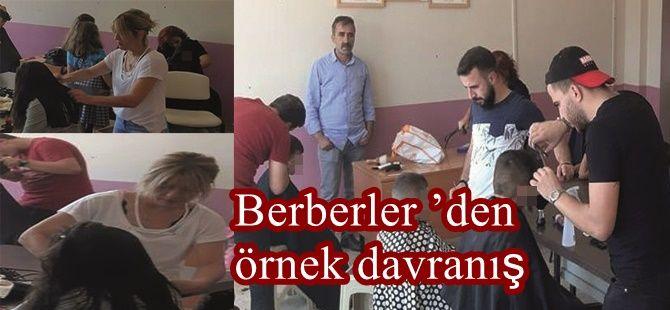 Berberler 'den örnek davranış
