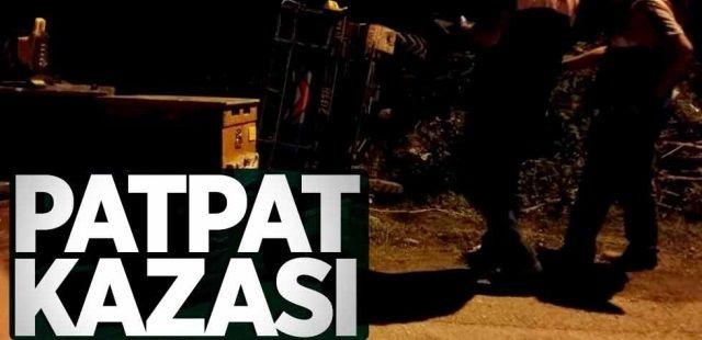 Pat Pat kazası 1 yaralı