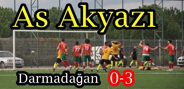 As Akyazıspor 0 Hendek Dereköy 3