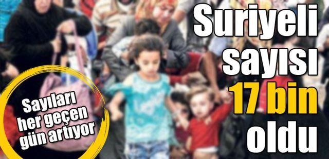 Sakarya'da Suriyeli sayısı 17 bine ulaştı