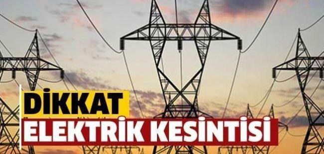 SEDAŞ'tan planlı elektrik kesintisi