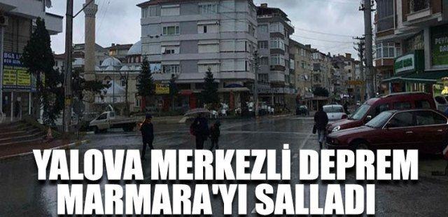 Marmara'da deprem.. Sakarya'da da hissedildi!