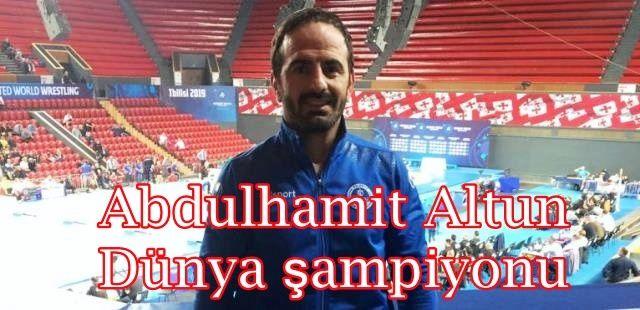 Abdulhamit Altun Dünya şampiyonu
