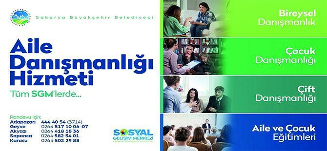 Aile Danışmanlığı hizmetleri SGM'lerde