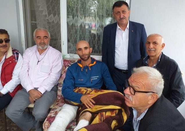 İETT emeklilerinden Gazimize ziyaret