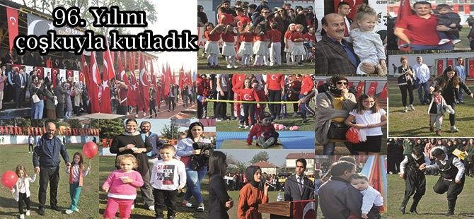 Akyazı'da Cumhuriyet çoşkusu