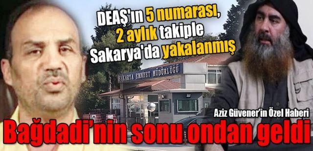 DEAŞ'ın 5 numarası, 2 aylık takiple Sakarya'da yakalanmış