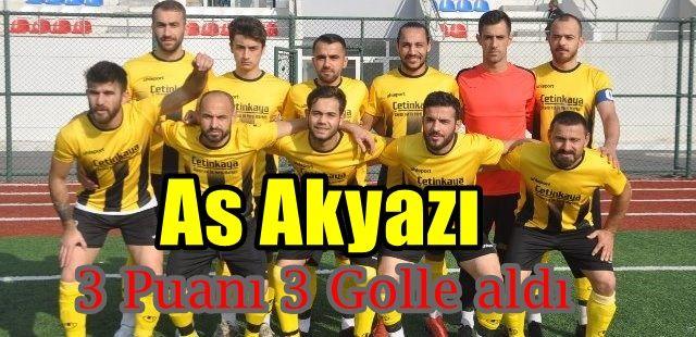 As Akyazı Spor 3 Karapürçek Spor 0