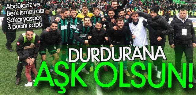 Sakaryaspor 2 K.Maraş 0 maç bitti