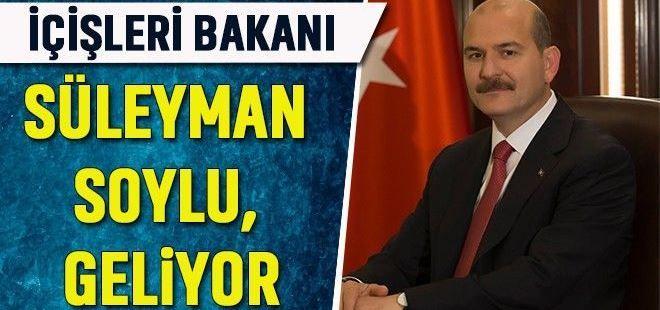 Süleyman Soylu Sakarya'ya geliyor
