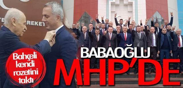 Babaoğlu MHP'li oldu
