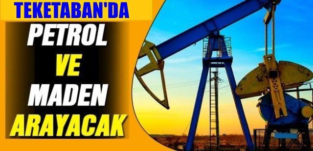 Karapürçek'te maden ve petrol aranacak