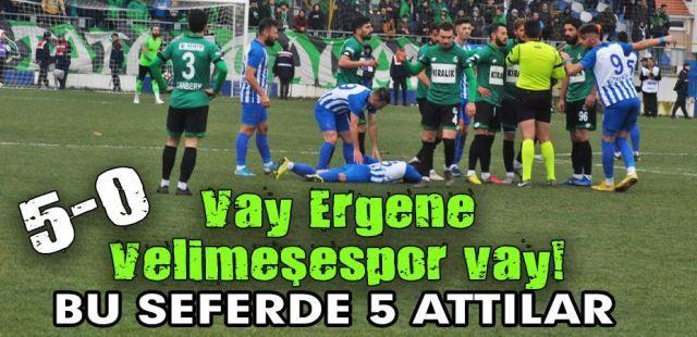 Sakaryaspor, Tekirdağ'da dondu kaldı! 5-0