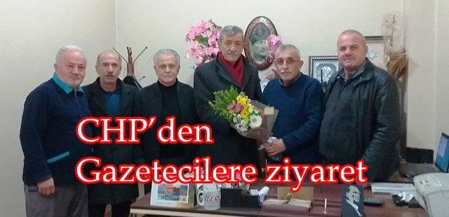 CHP'den gazetecilere ziyaret