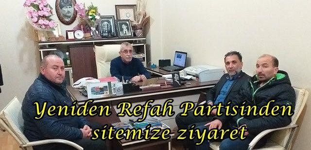 Yeniden Refah Partisinden sitemize ziyaret