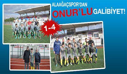 Alaağaç Spor'dan Onur'lu galibiyet 1-4