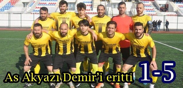 As Akyazı Demir'i eritti 1-5