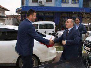 Erenler Belediye Başkanı Kılıç'tan Soykan'a ziyaret