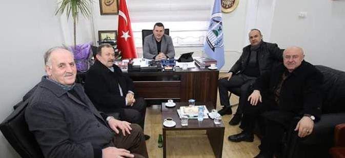 MHP Eski meclis üyelerinden Başkan Yardımcısı Özer'e  ziyaret