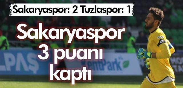 Sakaryaspor 2: Tuzlaspor: 1